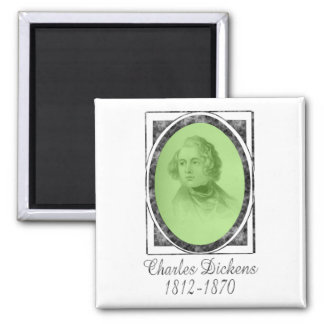 Charles Dickens Refrigerator Magnets
