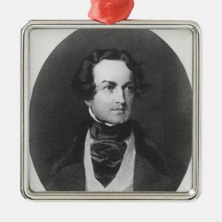Charles Dickens Metal Ornament