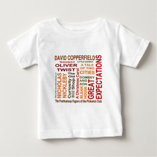 Charles Dickens Novels Baby T-Shirt