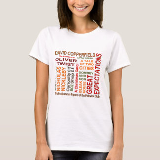 Charles Dickens Novels T-Shirt