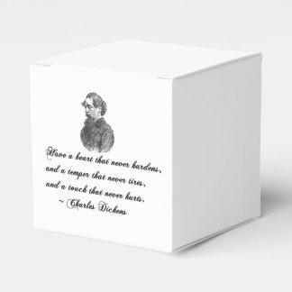 Charles Dickens nuestra cita del amigo mutuo Caja Para Regalos De Fiestas