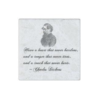 Charles Dickens nuestra cita del amigo mutuo Imán De Piedra