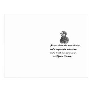 Charles Dickens nuestra cita del amigo mutuo Tarjetas Postales