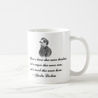 Charles Dickens Our Mutual Friend quote Coffee Mug