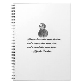 Charles Dickens Our Mutual Friend quote Notebooks