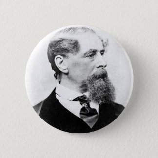 Charles Dickens Photo Button