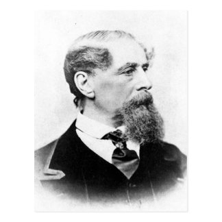 Charles Dickens Photo Postcard