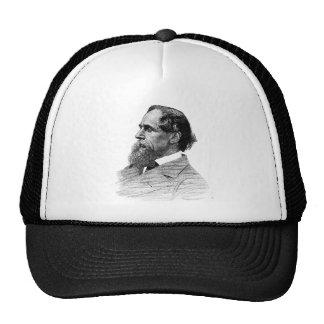 Charles Dickens Profile Trucker Hat