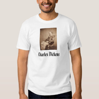 Charles Dickens T Shirt