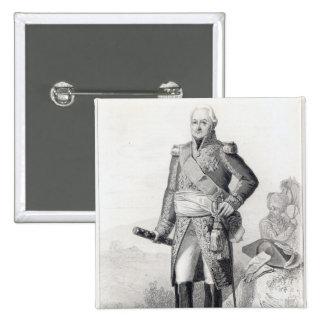 Charles du Houx de Viomenil Button