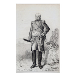 Charles du Houx de Viomenil Poster