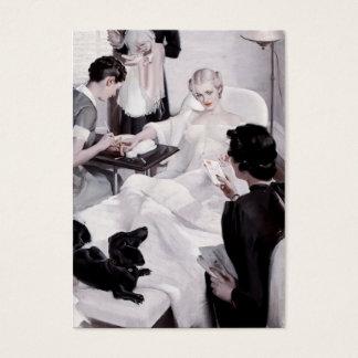 Charles Edward Chambers: Manicure Business Card
