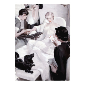 Charles Edward Chambers: Manicure 5x7 Paper Invitation Card