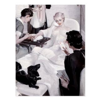 Charles Edward Chambers: Manicure Postcard