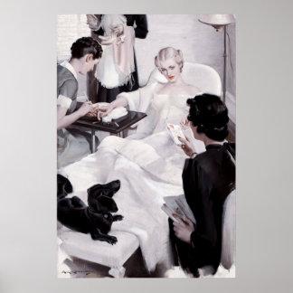 Charles Edward Chambers: Manicure Poster