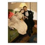 Charles Edward Chambers: Romantic Couple Greeting Card