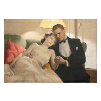 Charles Edward Chambers: Romantic Couple Placemat