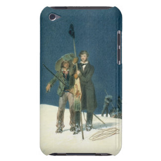 Charles Fellows with William Hawes, Plants a Baton Barely There iPod Cases
