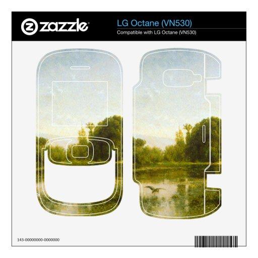 Charles Francois Daubigny - Pool at Gylieu Skin For LG Octane