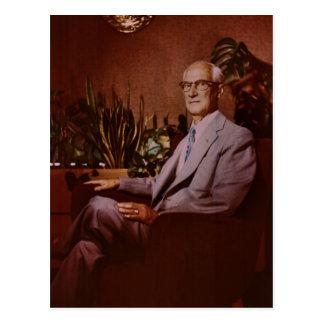 Charles Franklin ZARFOS of Red Lion, 1953 Postcard