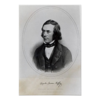 Charles Gavan Duffy, lithographed by H. O'Neill Poster
