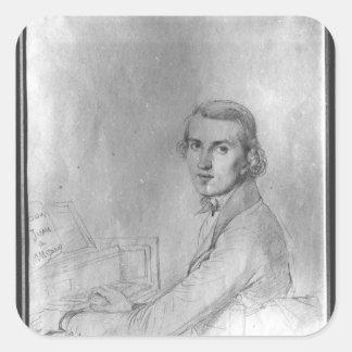 Charles Gounod 1841 Pegatina Cuadrada