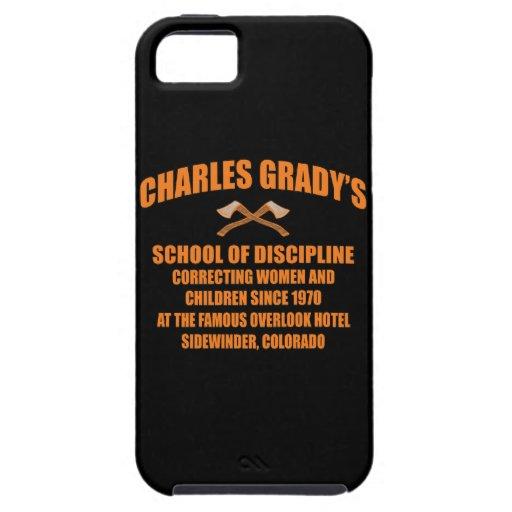 Charles Grady's School of Discipline iPhone 5 Covers