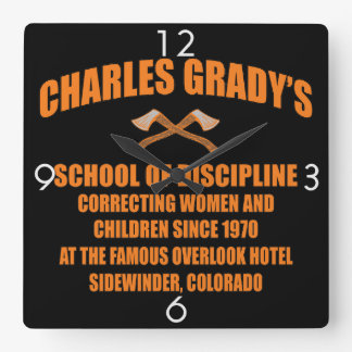 Charles Grady's School of Discipline Wallclock