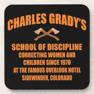 Charles Grady's School of Discipline Drink Coasters