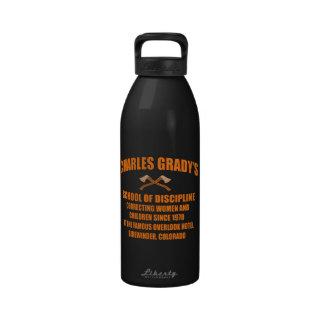 Charles Grady's School of Discipline Drinking Bottle