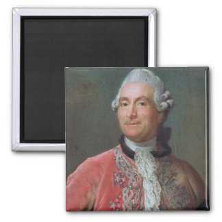 Charles Gravier  Count of Vergennes, 1771-74 2 Inch Square Magnet