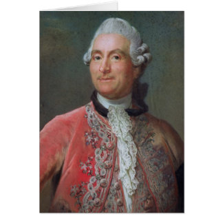 Charles Gravier  Count of Vergennes, 1771-74 Card
