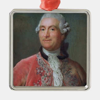 Charles Gravier  Count of Vergennes, 1771-74 Metal Ornament