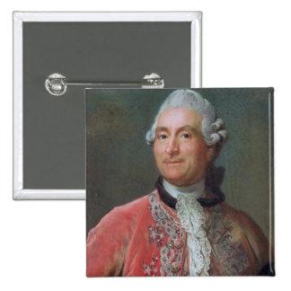 Charles Gravier  Count of Vergennes, 1771-74 Pinback Button