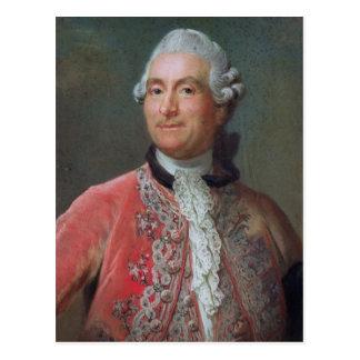 Charles Gravier  Count of Vergennes, 1771-74 Postcard