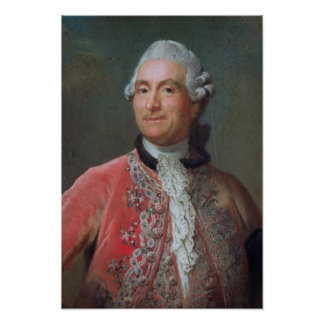 Charles Gravier  Count of Vergennes, 1771-74 Poster
