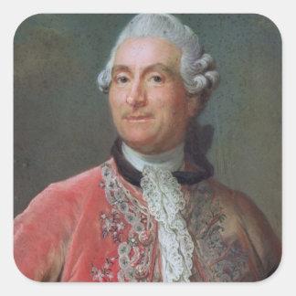 Charles Gravier  Count of Vergennes, 1771-74 Square Sticker