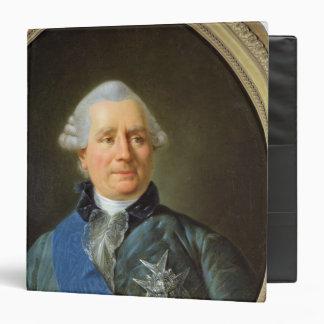 Charles Gravier  Count of Vergennes Binder