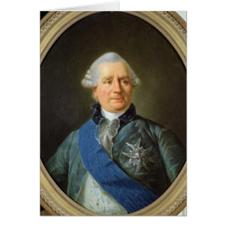 Charles Gravier  Count of Vergennes Card