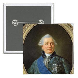 Charles Gravier  Count of Vergennes Pinback Button