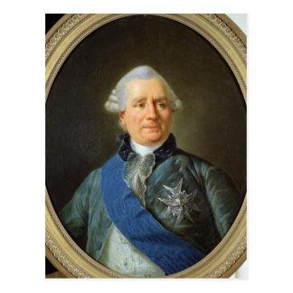 Charles Gravier  Count of Vergennes Postcard