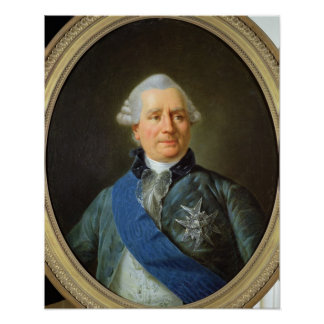 Charles Gravier  Count of Vergennes Poster