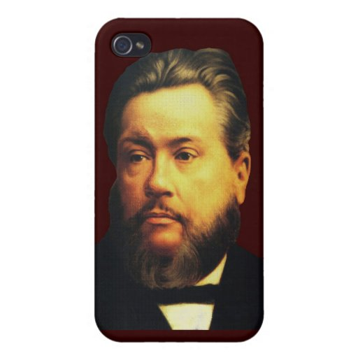 Charles H Spurgeon iPhone4 Case in Blessed Brown iPhone 4/4S Case