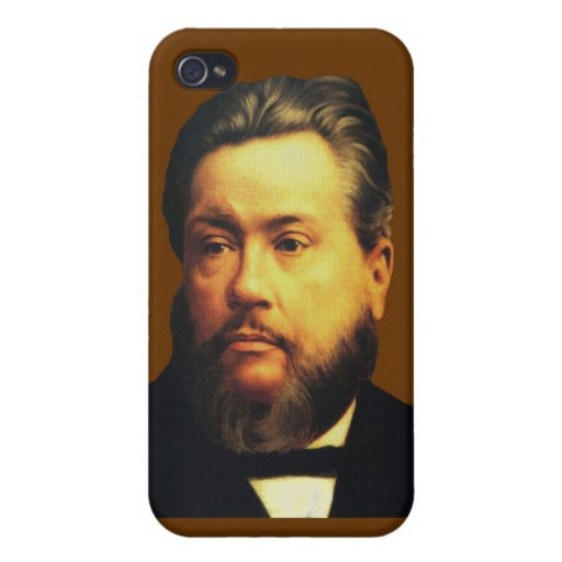 Charles H Spurgeon iPhone4 Case in Chocolate iPhone 4/4S Cases