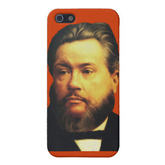 Charles H. Spurgeon iPhone4 Case in Red Cover For iPhone 5