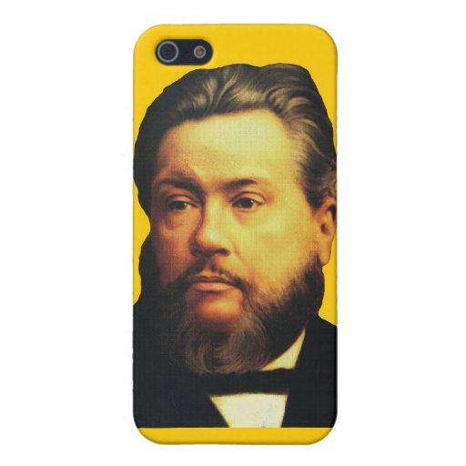 Charles H. Spurgeon iPhone4 Case in Yellow Cases For iPhone 5