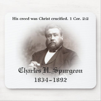 Charles Haddon Spurgeon Mousepad