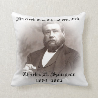 Charles Haddon Spurgeon Pillow