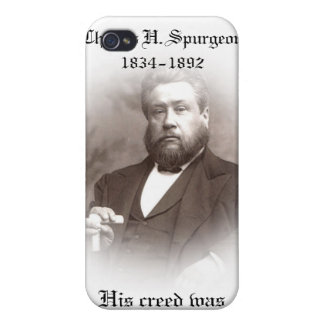 Charles Haddon Spurgeon Speck Case Cases For iPhone 4