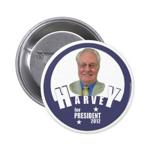 Charles Harvey for President 2012 2 Inch Round Button